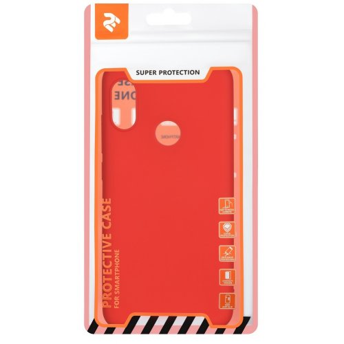Фото Чехол 2E Basic для Xiaomi Redmi 6 Pro Soft touch (2E-MI-6PR-NKST-RD) Red