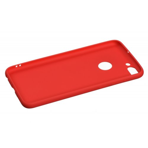 Фото Чехол 2E Basic для Huawei P Smart Soft touch (2E-H-PS-18-NKST-RD) Red