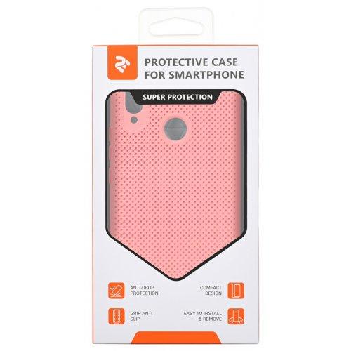 Фото Чехол 2E для Huawei P Smart+ Dots (2E-H-PSP-JXDT-PP) Pion Pink