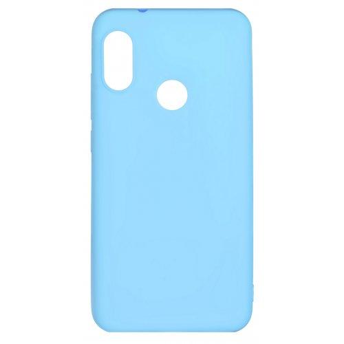 Фото Чехол 2E Basic для Xiaomi Redmi 6 Pro Soft touch (2E-MI-6PR-NKST-BL) Blue