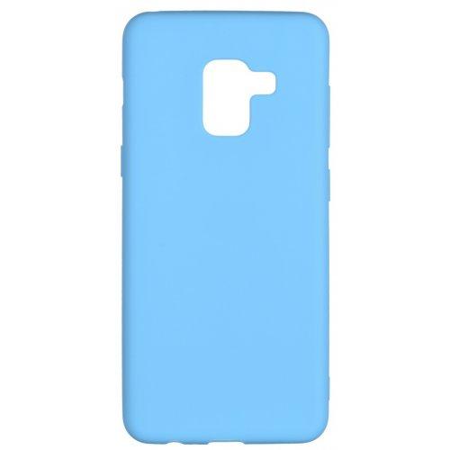 Купить Чехлы, 2E Basic для Samsung Galaxy A8 2018 (A530) Soft touch (2E-G-A8-18-NKST-BL) Blue