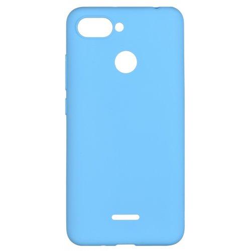 Фото Чехол 2E Basic для Xiaomi Redmi 6 Soft touch (2E-MI-6-NKST-BL) Blue