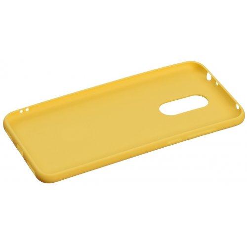 Фото Чехол 2E Basic для Xiaomi Redmi 5 Plus Soft touch (2E-MI-5P-NKST-MS) Mustard