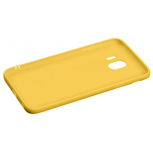Фото Чехол 2E Basic для Samsung Galaxy J4 2018 (J400) Soft touch (2E-G-J4-18-NKST-MS) Mustard