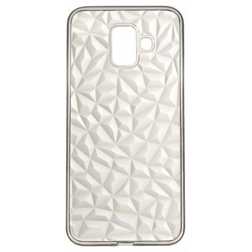Купить Чехлы, 2E Basic для Samsung Galaxy A6 (A600) Diamond (2E-G-A6-AOD-TR/BK) Transparent/Black