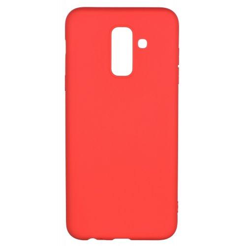 Купить Чехлы, 2E Basic для Samsung Galaxy A6+ 2018 (A605) Soft touch (2E-G-A6P-18-NKST-RD) Red