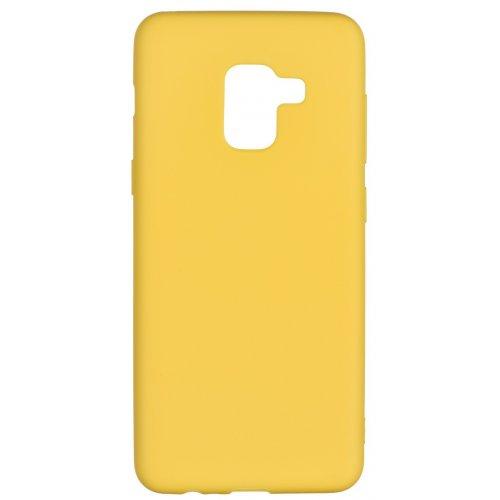 Купить Чехлы, 2E Basic для Samsung Galaxy A8 2018 (A530) Soft touch (2E-G-A8-18-NKST-MS) Mustard