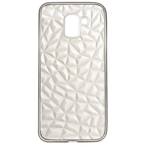 Купить Чехлы, 2E Basic для Samsung Galaxy J6 (J600) Diamond (2E-G-J6-AOD-TR/BK) Transparent/Black