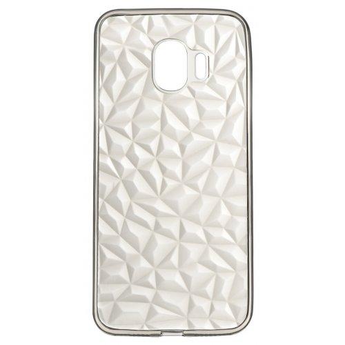 Чехлы, 2E Basic для Samsung Galaxy J2 (J250) Diamond (2E-G-J250-AOD-TR/BK) Transparent/Black  - купить со скидкой
