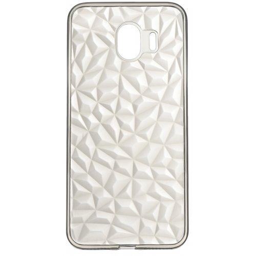 Купить Чехлы, 2E Basic для Samsung Galaxy J4 (J400) Diamond (2E-G-J4-AOD-TR/BK) Transparent/Black