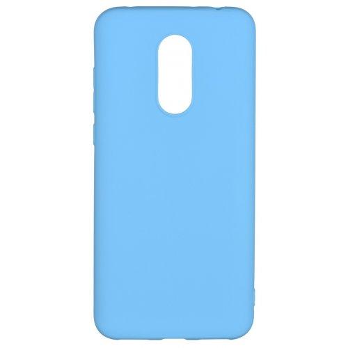 Фото Чехол 2E Basic для Xiaomi Redmi 5 Plus Soft touch (2E-MI-5P-NKST-BL) Blue
