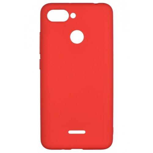 Фото Чехол 2E Basic для Xiaomi Redmi 6 Soft touch (2E-MI-6-NKST-RD) Red