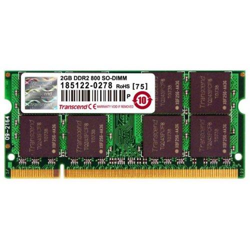 Фото ОЗУ Transcend SODIMM DDR2 2GB 800Mhz (JM800QSU-2G)