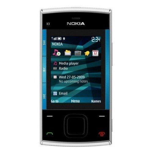Фото Мобильный телефон Nokia X3-00 Silver Blue