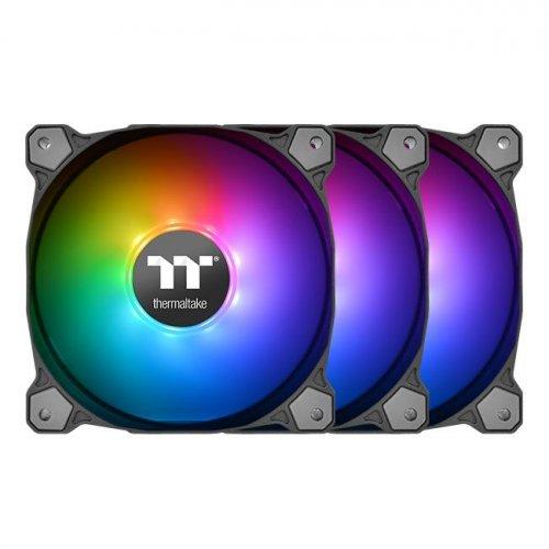 Купить Системы охлаждения, Thermaltake Pure 12 ARGB Sync Radiator Fan TT Premium Edition (3-Fan Pack) (CL-F079-PL12SW-A)