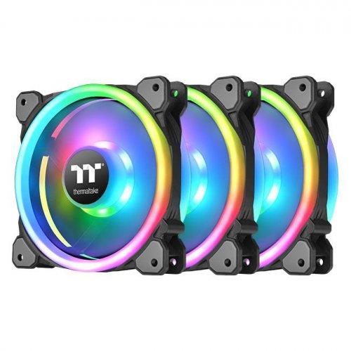 Купить Системы охлаждения, Thermaltake Riing Trio 14 RGB Radiator Fan TT Premium Edition (3-Fan Pack) (CL-F077-PL14SW-A)