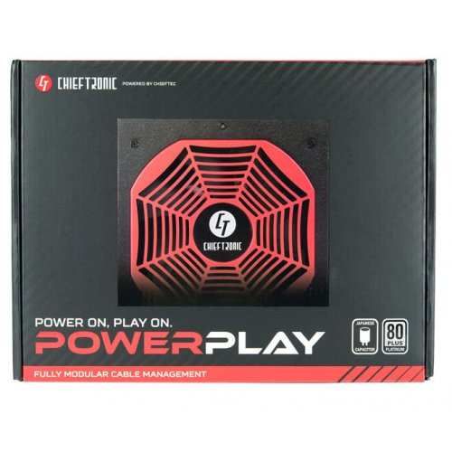 Фото Блок питания CHIEFTEC PowerPlay 1050W (GPU-1050FC)