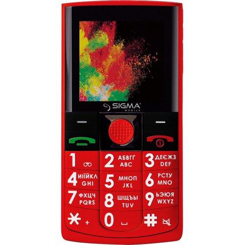 Фото Мобильный телефон Sigma mobile Comfort 50 Solo Red