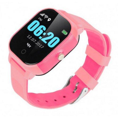 Фото Умные часы GOGPS ME К23 (K23PK) Pink