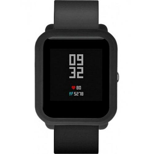 Фото Силиконовый бампер Xiaomi Smart Band for Amazfit bip Black