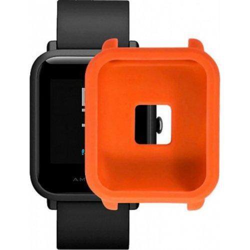 Фото Силиконовый бампер Xiaomi Smart Band for Amazfit bip Orange