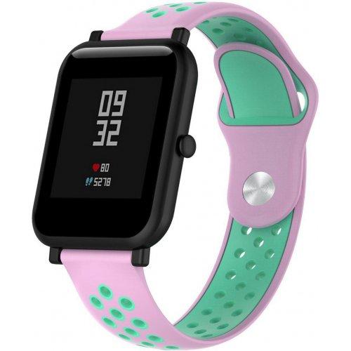 Фото Силиконовый бампер Xiaomi Smart Band for Amazfit bip Pink