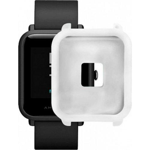 Фото Силиконовый бампер Xiaomi Smart Band for Amazfit bip White