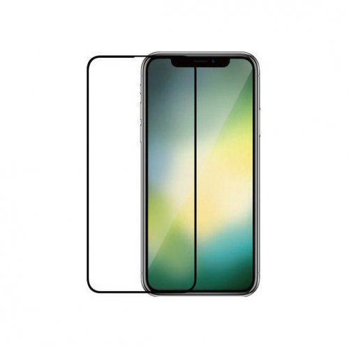 Фото Защитное стекло 4D для Apple iPhone Xr OEM Black