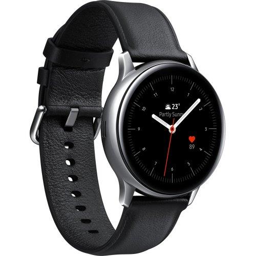 Фото Умные часы Samsung Galaxy Watch Active 2 44 mm Stainless steel (SM-R820NSSASEK) Silver