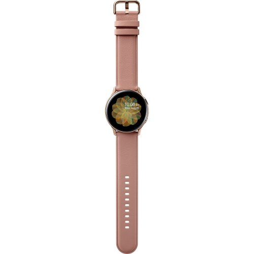 Фото Розумний годинник Samsung Galaxy Watch Active 2 40 mm Stainless steel (SM-R830NSDASEK) Gold