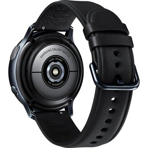 Фото Умные часы Samsung Galaxy Watch Active 2 40 mm Stainless steel (SM-R830NSKASEK) Black