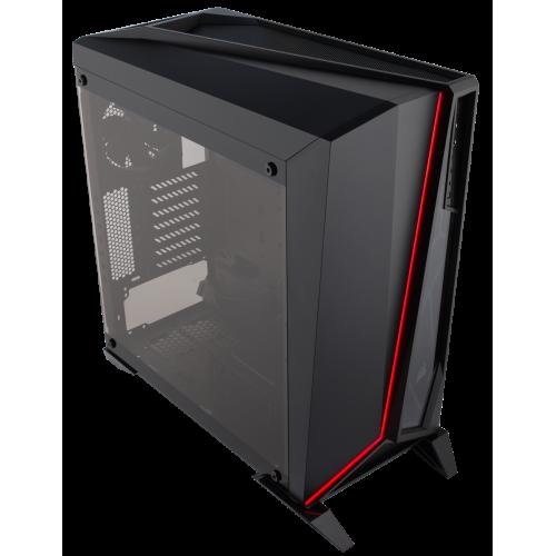 Фото Корпус Corsair Carbide Spec-Omega Tempered Glass без БП (CC-9011121-WW) Black/Red