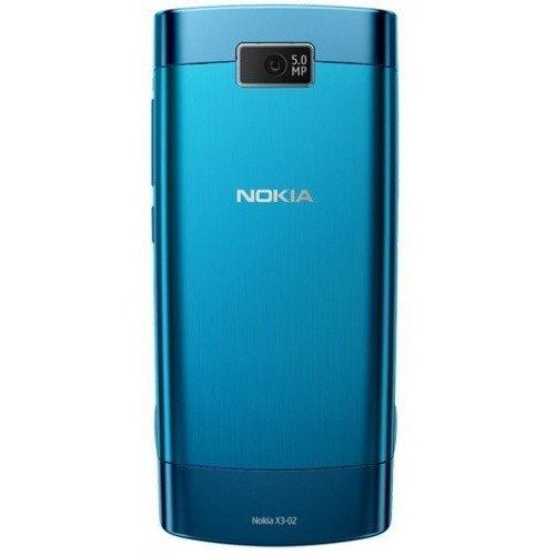 Фото Мобильный телефон Nokia X3-02.5 Touch and Type Petrol Blue
