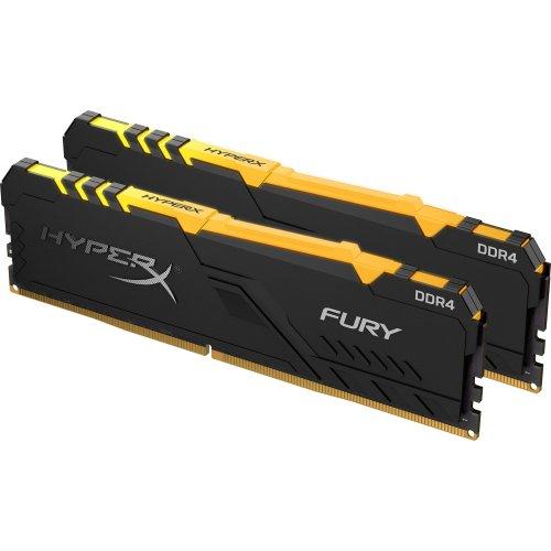 Фото ОЗУ HyperX DDR4 16GB (2x8GB) 3466Mhz Fury RGB (HX434C16FB3AK2/16)