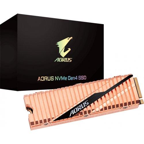 Фото SSD-диск Gigabyte AORUS 3D NAND TLC 1TB M.2 (2280 PCI-E) NVMe x4 (GP-ASM2NE6100TTTD)