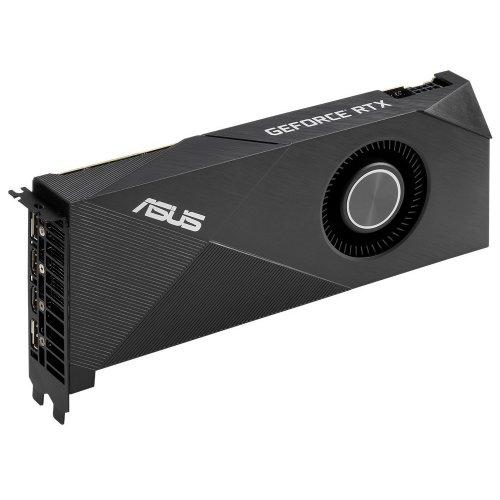 Фото Видеокарта Asus GeForce RTX 2060 SUPER Turbo Evo 8192MB (TURBO-RTX2060S-8G-EVO)