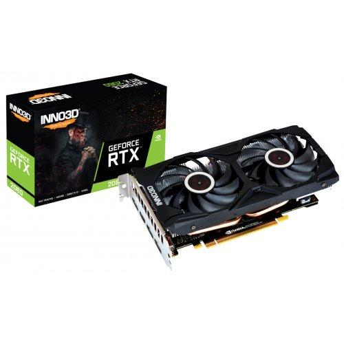 Фото Видеокарта Inno3D GeForce RTX 2060 Gaming OC X2 6144MB (N20602-06D6X-1710VA15L)