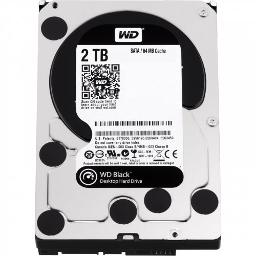 Фото Жесткий диск Western Digital Black 2TB 64MB 3.5