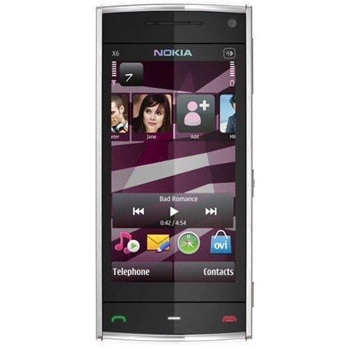 Фото Мобильный телефон Nokia X6-00 16GB White White