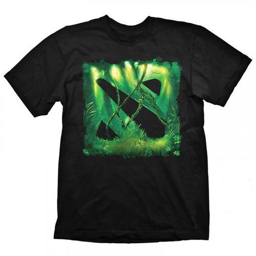 Фото Футболка GAYA DOTA 2 Jungle T-Shirt S & Bonus Code (GE1704S) Black/Green