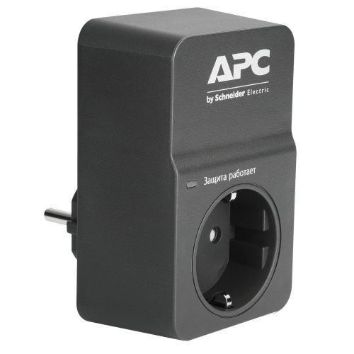 Фото Сетевой фильтр APC Essential SurgeArrest 1 розетка (PM1WB-RS) Black