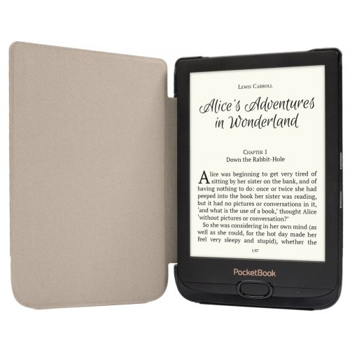 Фото Чехол PocketBook Shell для PB616/PB627/PB632 (WPUC-627-S-GY) Grey