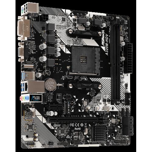 Фото AsRock A320M-HDV R4.0 (sAM4, AMD A320)