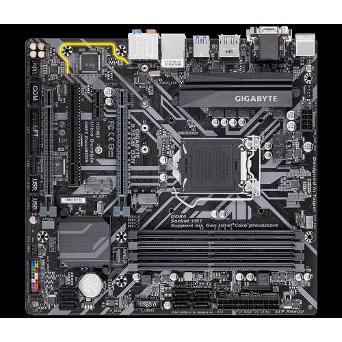 Фото Материнская плата Gigabyte B365M D3H (s1151-V2, Intel B365)