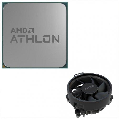 Фото Процессор AMD Athlon 240GE 3.5GHz sAM4 Tray (YD240GC6FBMPK)