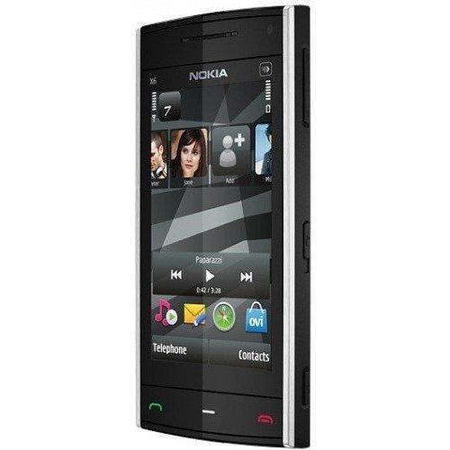 Фото Мобильный телефон Nokia X6-00 8GB Black