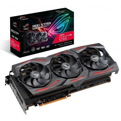 Фото Видеокарта Asus Radeon RX 5700 STRIX OC 8192MB (ROG-STRIX-RX5700-O8G-GAMING)