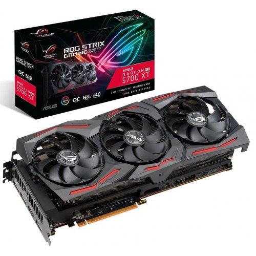 Фото Видеокарта Asus ROG Radeon RX 5700 XT STRIX OC 8192MB (ROG-STRIX-RX5700XT-O8G-GAMING)