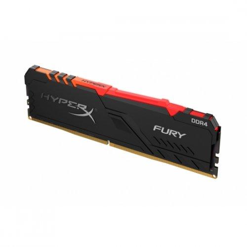 Фото ОЗУ HyperX DDR4 8GB 3200Mhz Fury RGB (HX432C16FB3A/8)