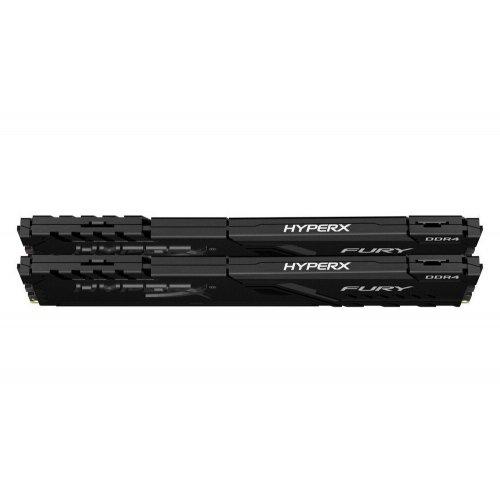 Фото HyperX DDR4 16GB (2x8GB) 3200Mhz Fury Black (HX432C16FB3K2/16)